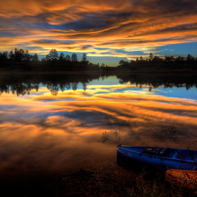 by Ed Mullins - Landscapes Sunsets & Sunrises ( , reflection, reflections, mirror, hdr )