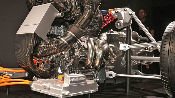 Mercedes project one engine