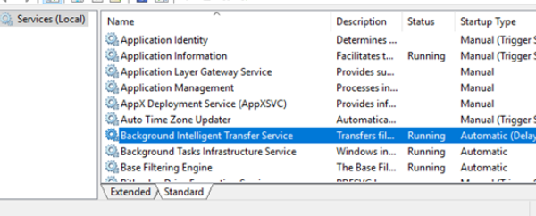 How to Disable Background Intelligent Transfer Service in Windows 10