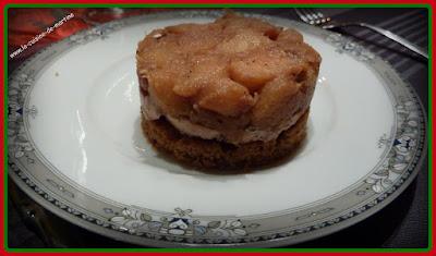 recette tatin pain d 39 pice et foie gras la cuisine de martine. Black Bedroom Furniture Sets. Home Design Ideas