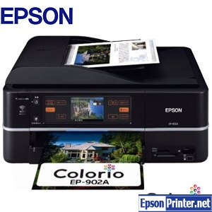 How to reset Epson EP-902A with program