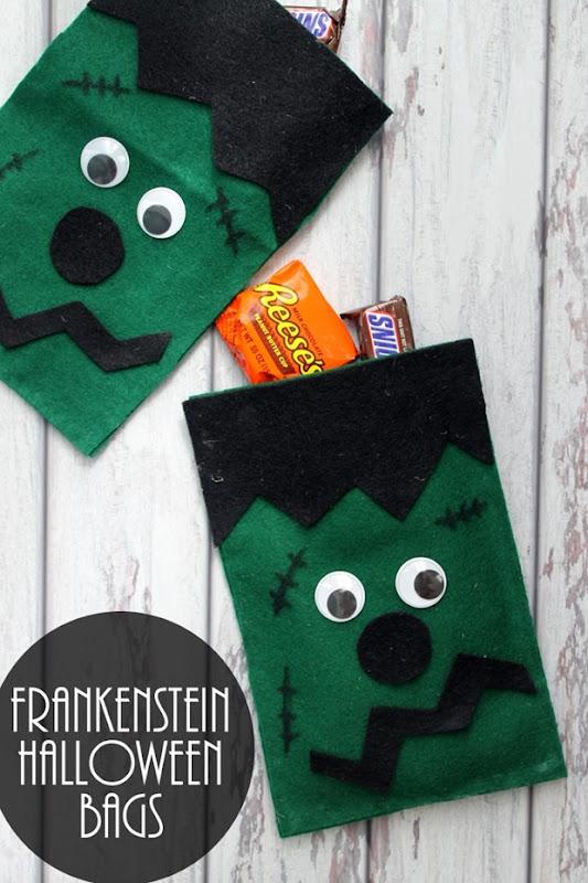 frankenstein-halloween-bags