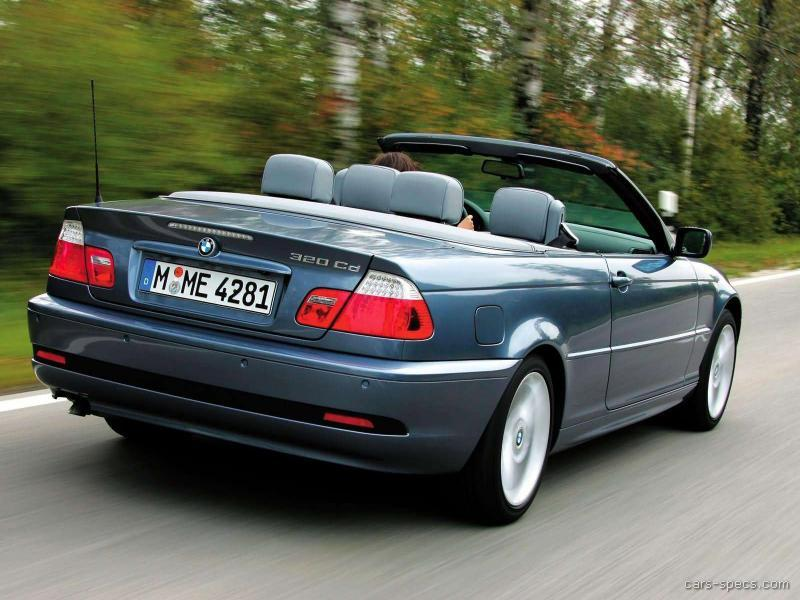 2004 BMW 3 Series Convertible Specifications, Pictures, Prices