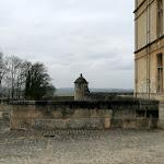 Château d'Ecouen : fossé ouest