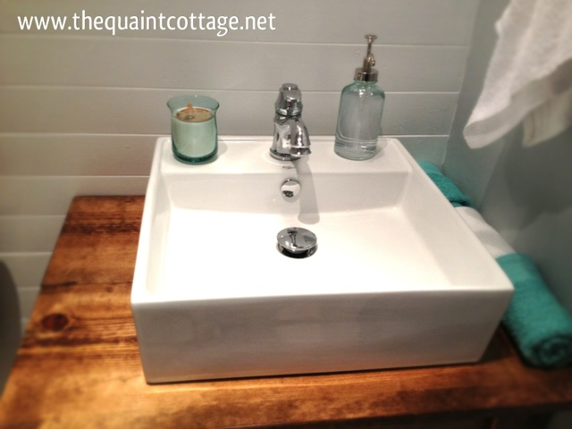 remodelaholic | diy bathroom vanity how to
