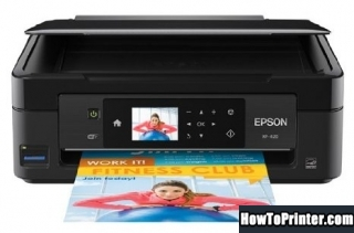 Reset Epson XP-420 printer Waste Ink Pads Counter