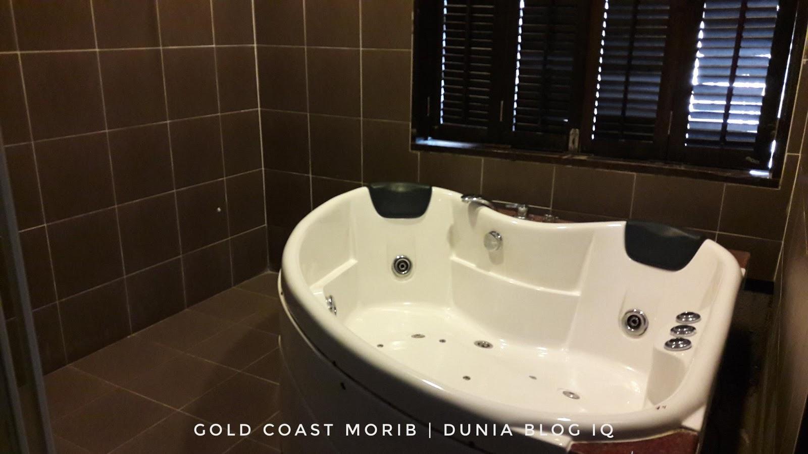 Percutian Singkat di Gold Coast Resort Morib -  Hari Pertama