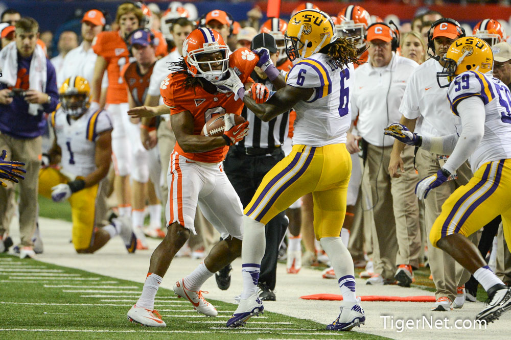 2012 Chick-Fil-A Bowl vs LSU Photos - 2012, Bowl Game, DeAndre Hopkins, Football, LSU