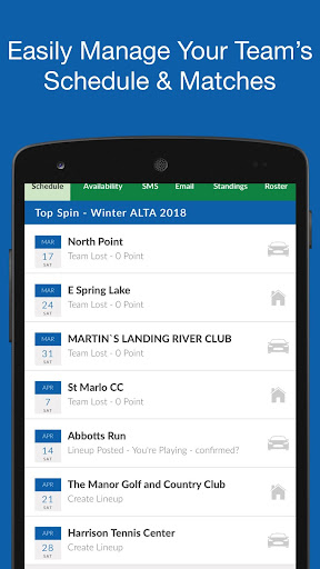 (APK) تحميل لالروبوت / PC TennisPoint تطبيقات screenshot