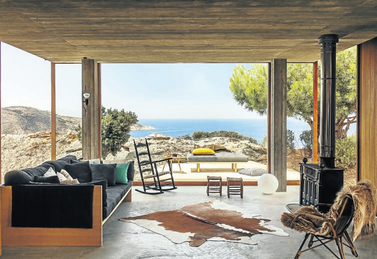 The Corsican seaside cabin