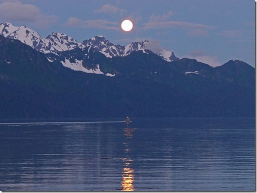 June 21, 2016 around 12:15 am, Resurection Bay, Alaska
