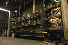 Behind the curtain, Vienna State Opera House