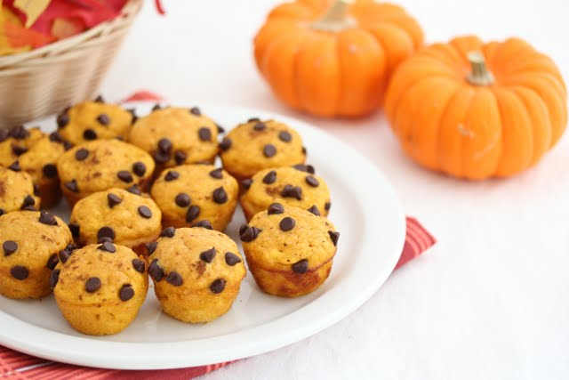 photo of a btach of Pumpkin Pancake Muffins