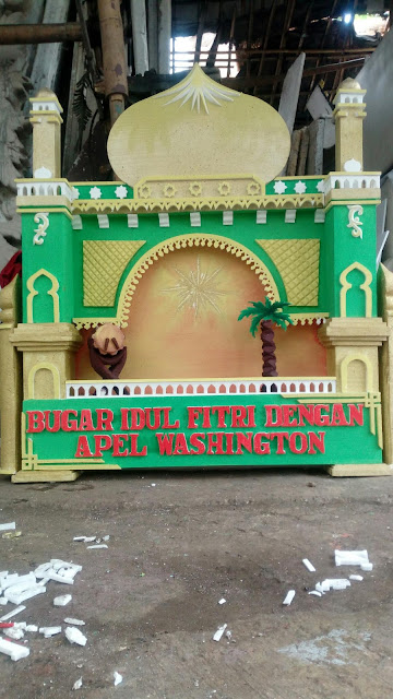 Dekorasi Styrofoam Wedding Bandung Murah