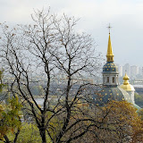 8. Domes of Vydubchi Monastery at Dnieper River