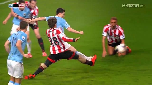 Nasri, Manchester City - Sunderland
