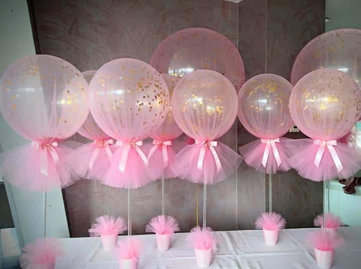 M s y m s manualidades bellas ideas para decorar globos - Globos para decorar ...