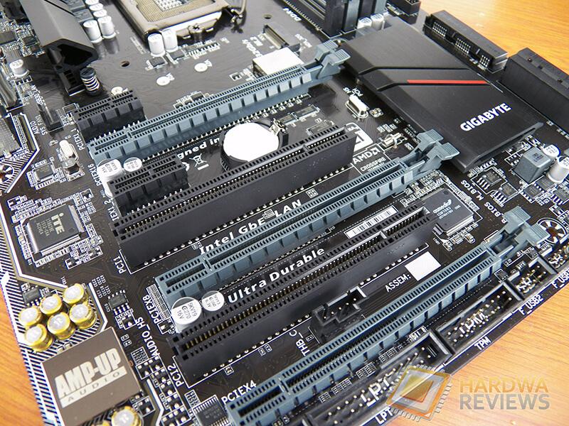 Gigabyte Z170XP-SLI puertos expansión