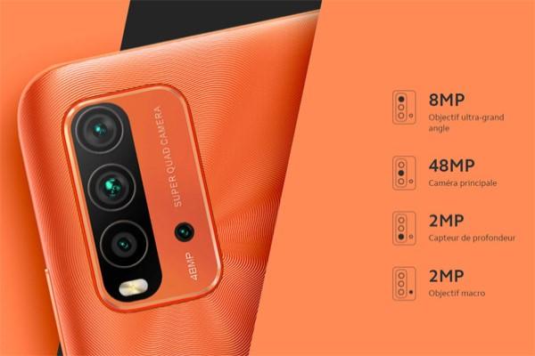 كاميرات هاتف شياومي ريدمي 9T الخلفية
