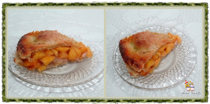 Torta de pêssegos Refém 3