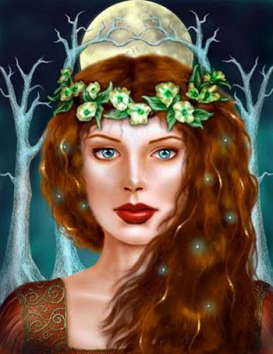 A Deusa Galesa Blodeuwedd