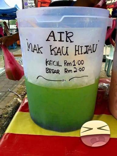 Air Mak Kau Hijau