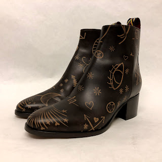 Valentino NEW Celestial Ankle Boots