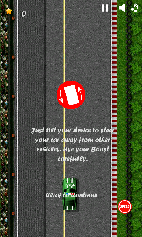 cop car games for free kids screenshot