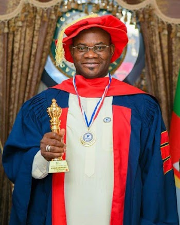 GOVERNOR YAHAYA BELLO BAGS ANOTHER AWARD FROM INSTITUTE OF SECURITY AND STRATEGIC STUDIES.
