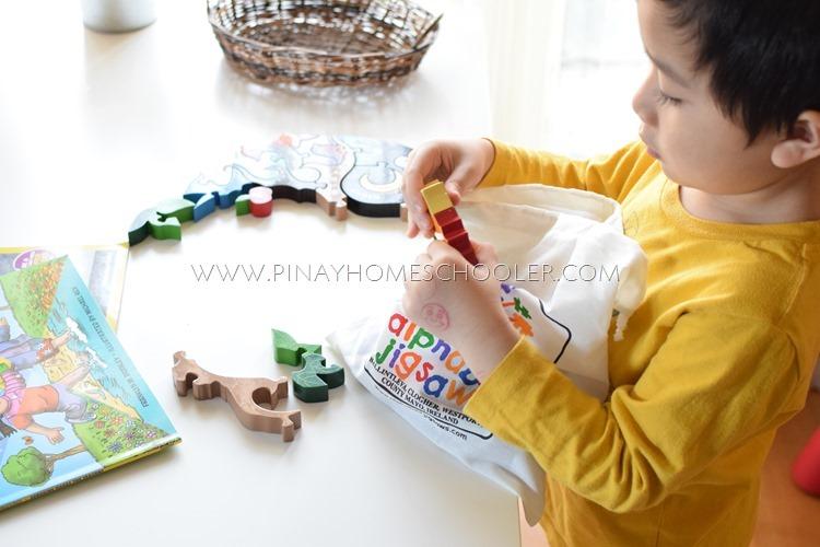 Alphabet Jigsaw Wooden Seasons Puzzle