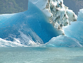 Photo: Freshly Calved Ice Berg