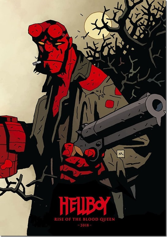 Hellboy Rise of the Blood Queen is set to release in 2018