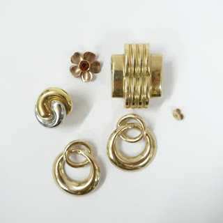 14K & 18K Gold Damaged & Single Jewelry Lot