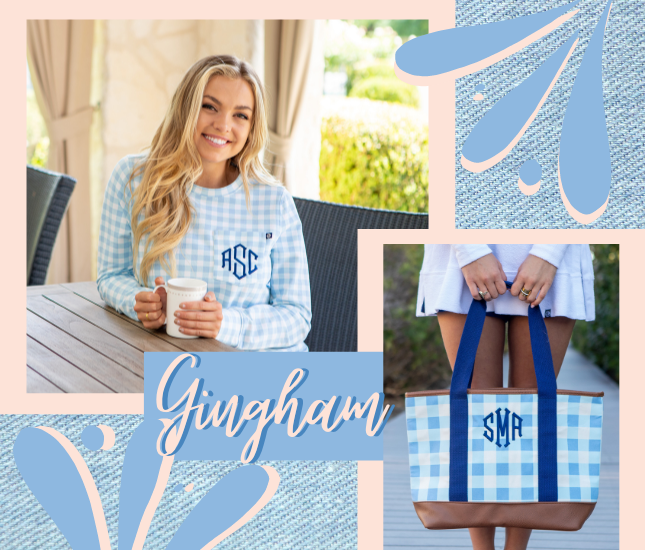 gingham patterns from marleylilly.com
