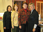 Sharon Smith, Ginny Lloyd, Leah McDaniel and Laurie Starks.
