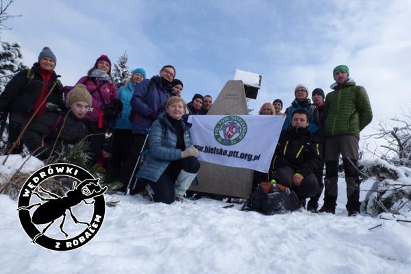 Grupa na szczycie Orlicy