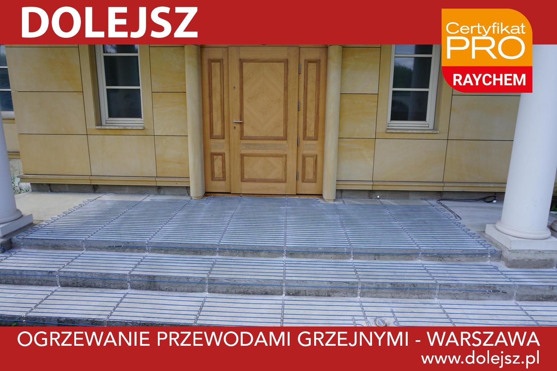Ogrzewanie schodów zewnętrznych Warszawa