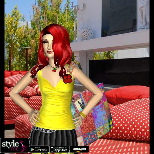 Style Me Girl Level 61 - Accent Color - Victoria