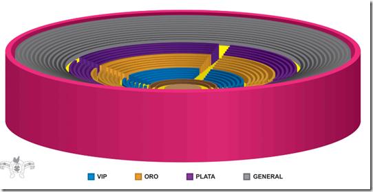 Palenque Fiestas de Octubre 2017 zona de boletos