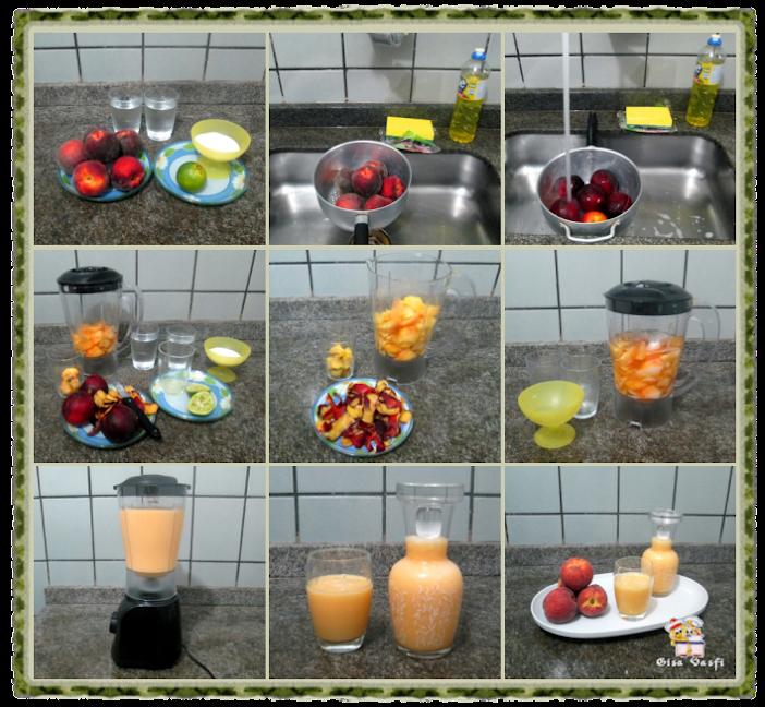 Suco de pêssegos 3