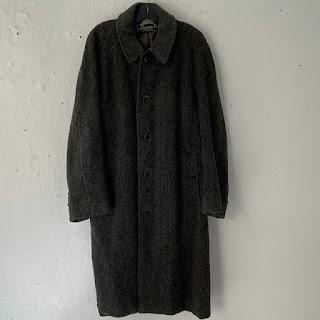 Burberrys Vintage Wool Overcoat