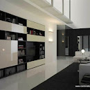stile moderno per il mobile soggiorno
