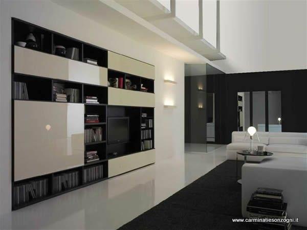 Arredamenti moderni carminati e sonzognicarminati e sonzogni for Mobili x soggiorno moderni