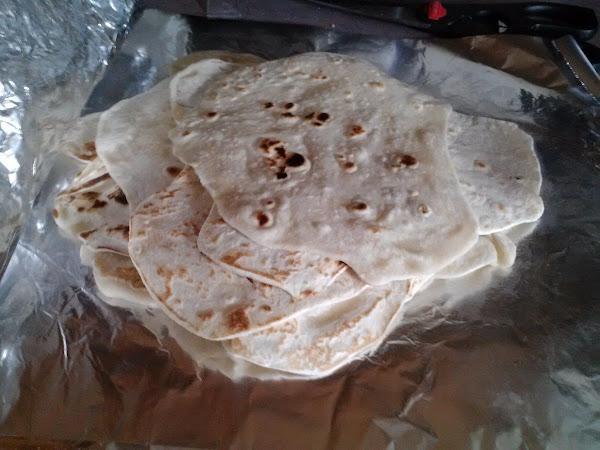 Homemade Flour Tortillas Recipe