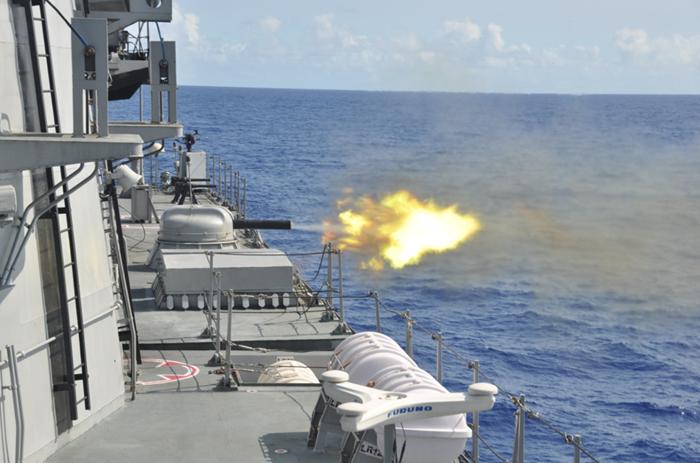 AK-630 - Naval Close-In Gatling Gun - INS Satpura - Indian Navy - 01