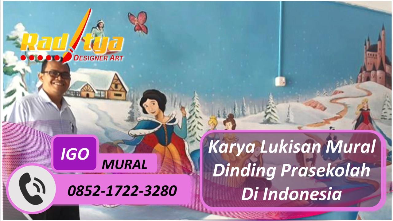 Karya Lukisan Mural Dinding Prasekolah Di Indonesia
