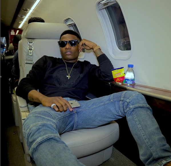These are the 3 Nigerian Artiste's Song Wizkid Is Feeling At The Moment