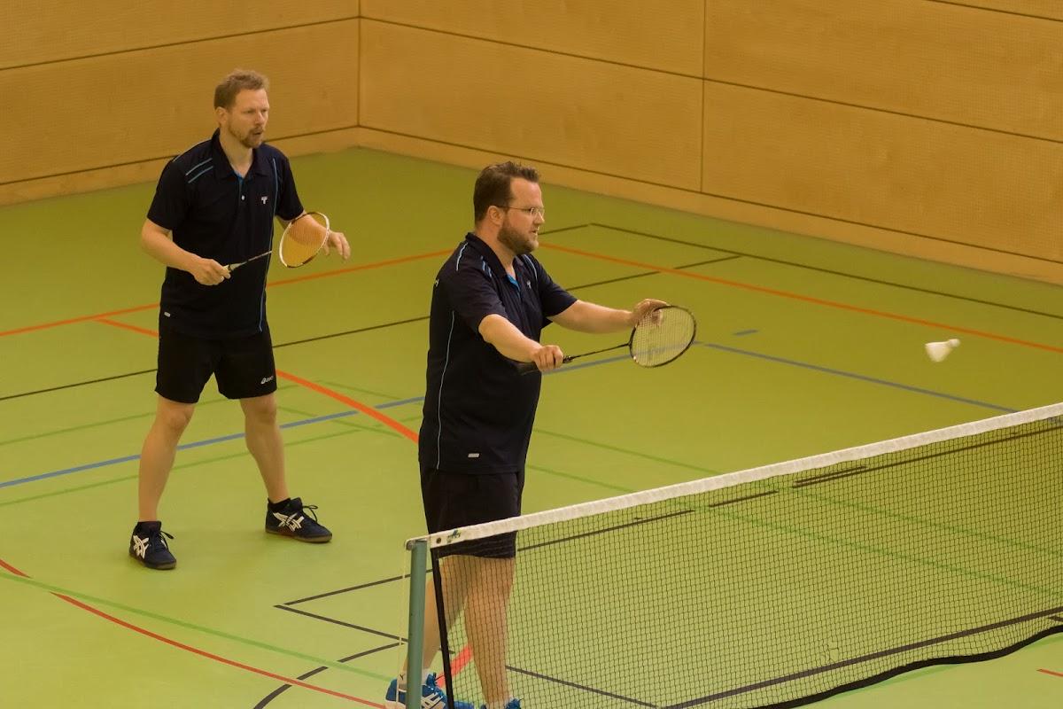 Harald und Jochen im 2. Doppel