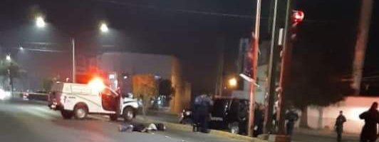 Tiraron cuerpos en el Boulevard Anacleto