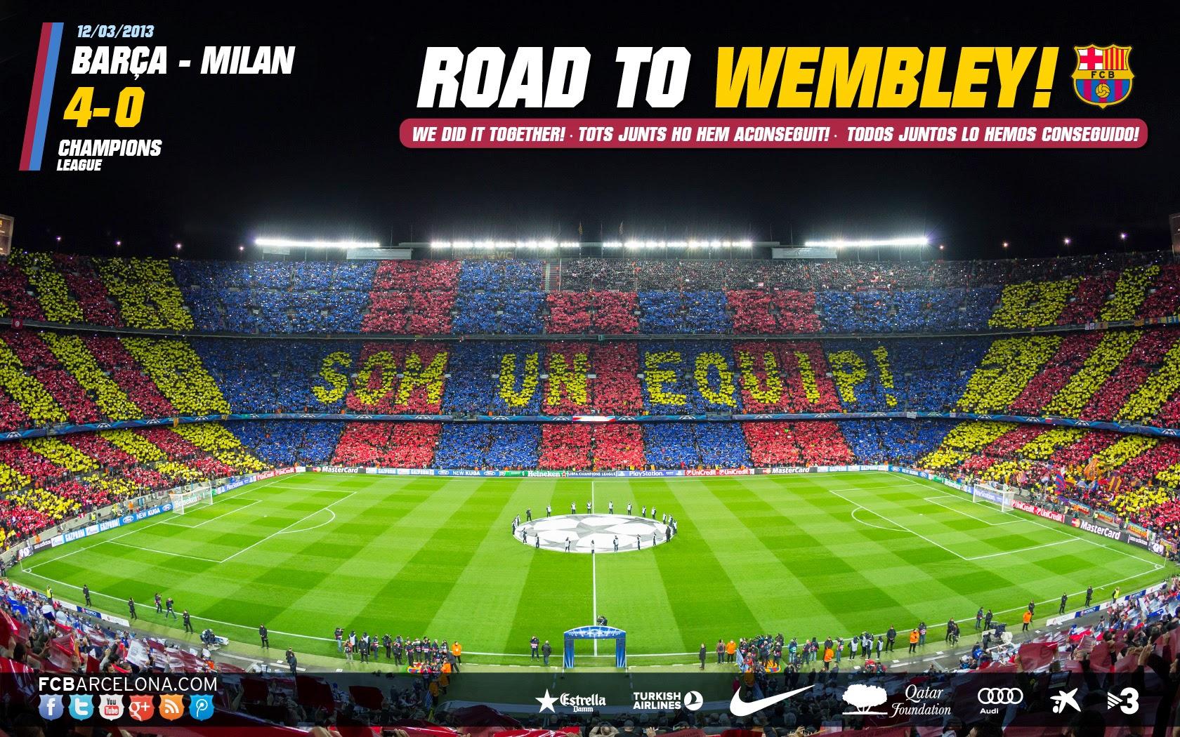 Football Wallpaper Galery Barcelona Wallpapers